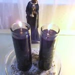 Black candle burned for two 'instigators of chaos'