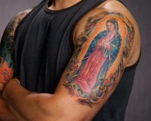 Guadalupe tattoo