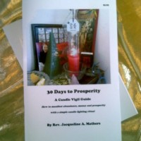 "Free Candle Spells | ""30 Days to Prosperity – A Candle Vigil Guide"""